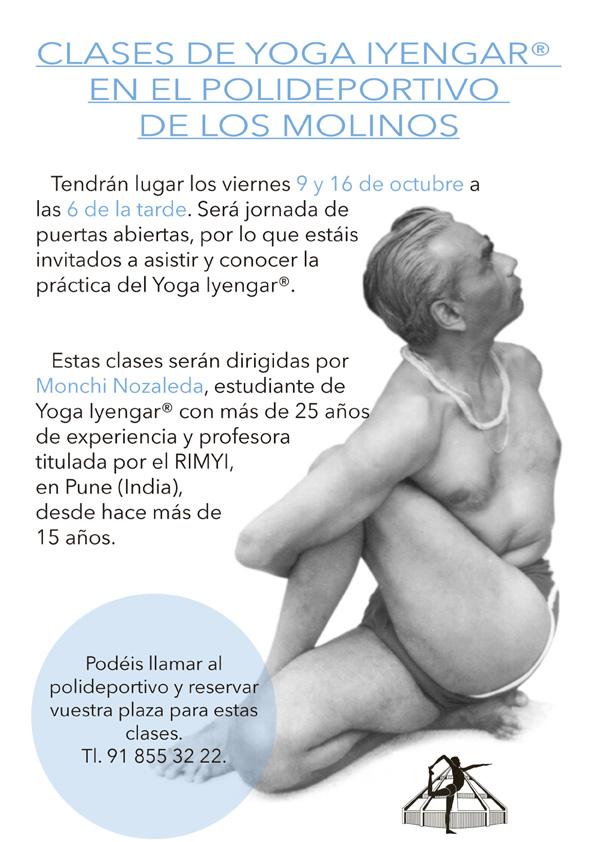 Clases de Yoga en el Polideportivo – Ayuntamiento de Los Molinos a7a39d8f126d