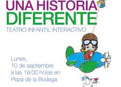 Cartel Alicia Los Molinos Actuacion niños