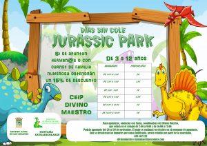 """Los días sin cole """"Jurassic Park"""""""