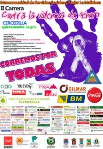 """II Carrera contra la violencia de género """"Corremos por todas"""" @ Cercedilla"""