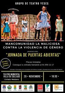 """Grupo de Teatro Yeses """"Jornada de puertas abiertas"""" @ Teatro municipal Villa de Collado"""