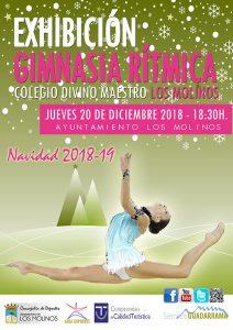Exhibición de Gimnasia Rítmica @ Colegio Divino Maestro