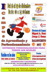 Jornadas Tecnificación de Baloncesto @ Polideportivo Majalastablas