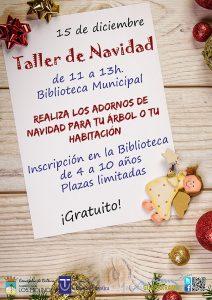 Taller de Adornos de Navidad @ Biblioteca Municipal