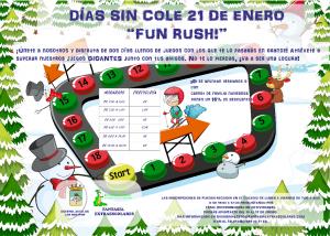 """Días sin cole 21 de enero """"Fun Rush"""" @ CEIP Divino Maestro"""