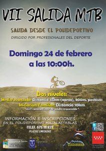 VII Salida MTB @ Polideportivo Majalastablas