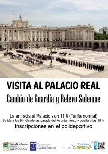 Visita al Palacio Real, cambio de guardia y relevo solemne @ Palacio Real