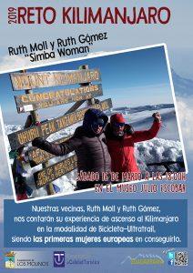 Charla con Ruth Moll y Ruth Gómez sobre el Reto Kilimanjaro @ Casa Museo Julio Escobar