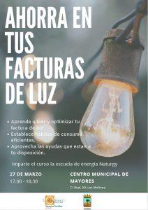 Ahorra en tus facturas de la luz @ Centro Municipal de Mayores