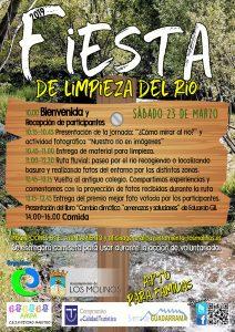 Fiesta de limpieza del río @ Río Guadarrama, Los Molinos