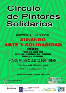 Inauguración exposición Círculo de Pintores Solidarios @ Casa Museo Julio Escobar