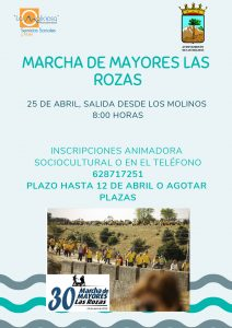 Marcha de mayores Las Rozas