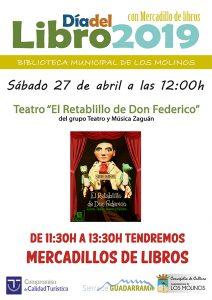 Día del libro 2019 @ Biblioteca Los Molinos