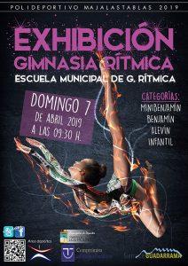 Exhibición de Gimnasia Rítmica @ Polideportivo Majalastablas