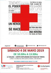 Donación de sangre @ Explanada Plaza de toros