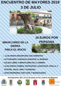 Encuentro de mayores 2019 @ Miraflores de la Sierra, Finca el Rocío