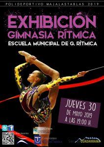 Exhibición Gimnasia Rítmica @ Polideportivo Majalastablas