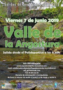 """Salida de senderismo """"Valle de la Angostura"""" @ Salida desde el Polideportivo"""