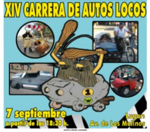 Carrera de autos locos @ Avenida de Los Molinos