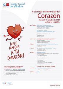 V Jornada Día Mundial del Corazón @ HG Villalba