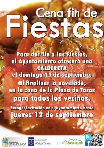 Cena Fin de Fiestas @ Plaza de Toros