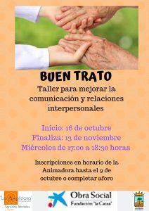 Taller para mejorar la comunicación y relaciones interpersonales @ Hogar del Mayor