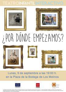 "Teatro infantil ""Por dónde empezamos"" @ Plaza de la Bodega"