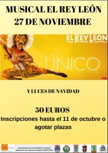 Musical El Rey Léon @ Madrid