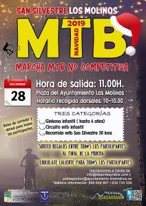 San Silvestre Los Molinos MTB @ Plaza de España