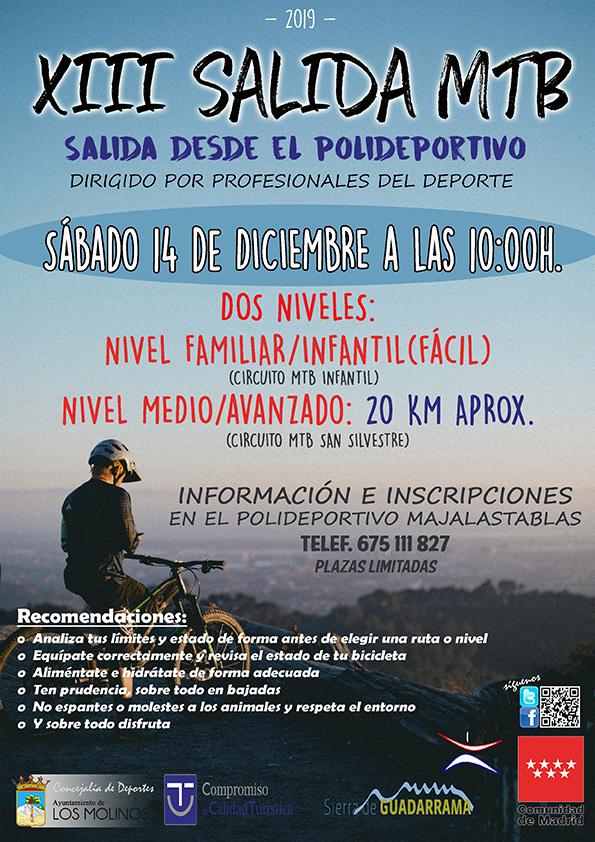 XIII Salida MTB @ Los Molinos