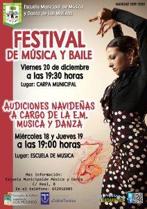 FESTIVAL MÚSICA Y BAILE @ Carpa Municipal