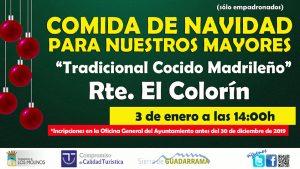 COMIDA NAVIDAD CON NUESTROS MAYORES @ Restaurante el Colorín
