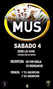 CAMPEONATO DE MUS @ Carpa municipal