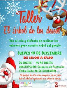 TALLER ÁRBOL DE LOS DESEOS @ Colegio Divino Maestro