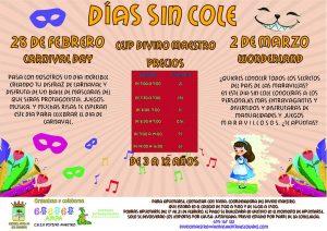 "Días sin cole ""Carnival Day"" ""Wonderland"" @ CEIP DIVINO MAESTRO"