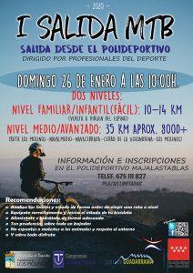 I Salida MTB 2020 @ Los Molinos
