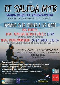 II Salida MTB @ Polideportivo Majalastablas