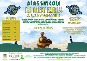 "Días sin cole ""The Orient Express"" @ CEIP Divino Maestro"
