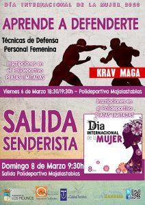 """Aprende a defenderte """"Día Internacional de la Mujer"""" @ Polideportivo Majalastablas"""