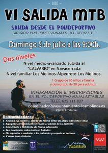 VI Salida MTB 5 julio @ Salida desde el polideportivo