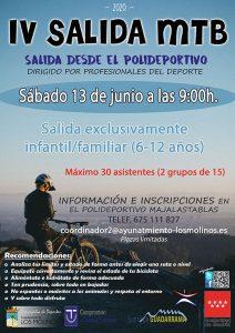 V Salida MTB @ Polideportivo Majalastablas