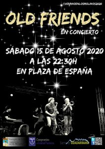 Old Friends en concierto @ Plaza de España