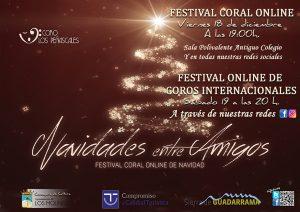 Festival Coral online de Navidad @ Sala Polivalente Antiguo Colegio