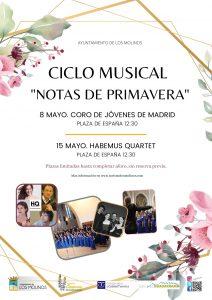 """Ciclo musical """"Notas de Primavera"""" @ Plaza de España"""
