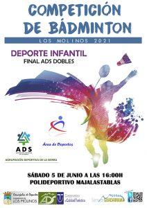 Campeonato de Bádminton @ Polideportivo Majalastablas