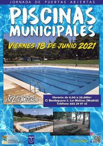 Jornada de puertas abiertas Piscinas Municipales @ Piscinas Municipales