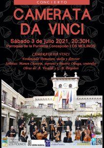 Camerata da Vinci en concierto @ Parroquia de la Purísima Concepción