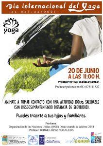 Día Internacional del Yoga @ Polideportivo Majalastablas
