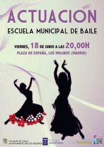 Actuación de la Escuela Municipal de Baile @ Plaza de España