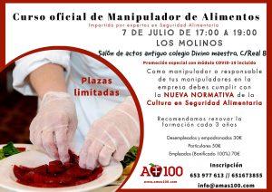 Curso oficial de manipulador de alimentos @ Salón de actos antiguo colegio Divino Maestro